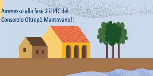 Ammesso alla fase 2 il PIC del Consorzio Oltrepò Mantovano!